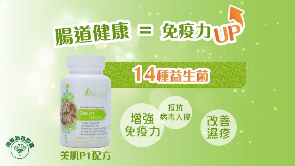 益生菌有助腸道健康=免疫力UP